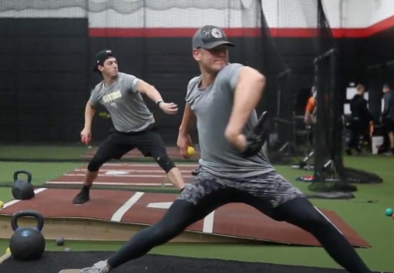 Athletes improve throwing output