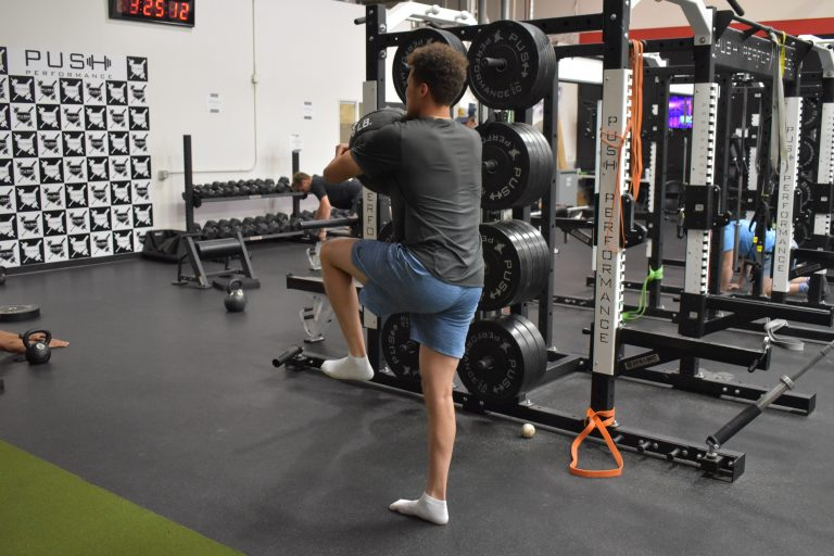 How to gain power in your swing exercises.