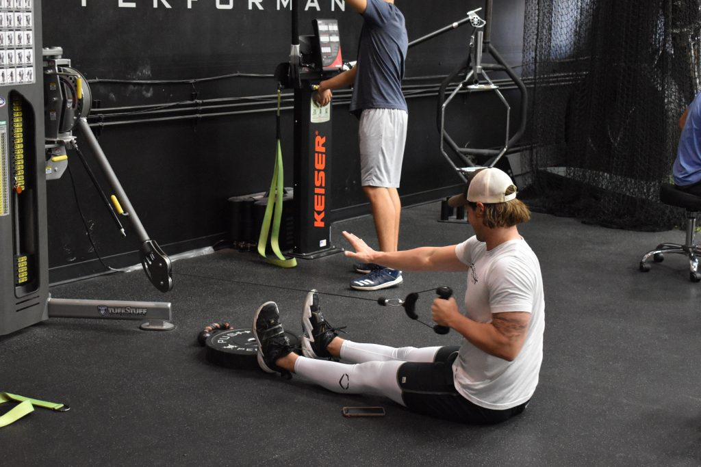 Athletes are different when it comes to baseball performance rehab.