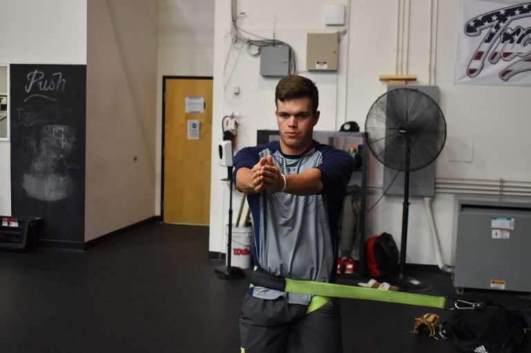 How to gain power in your swing through strength work.