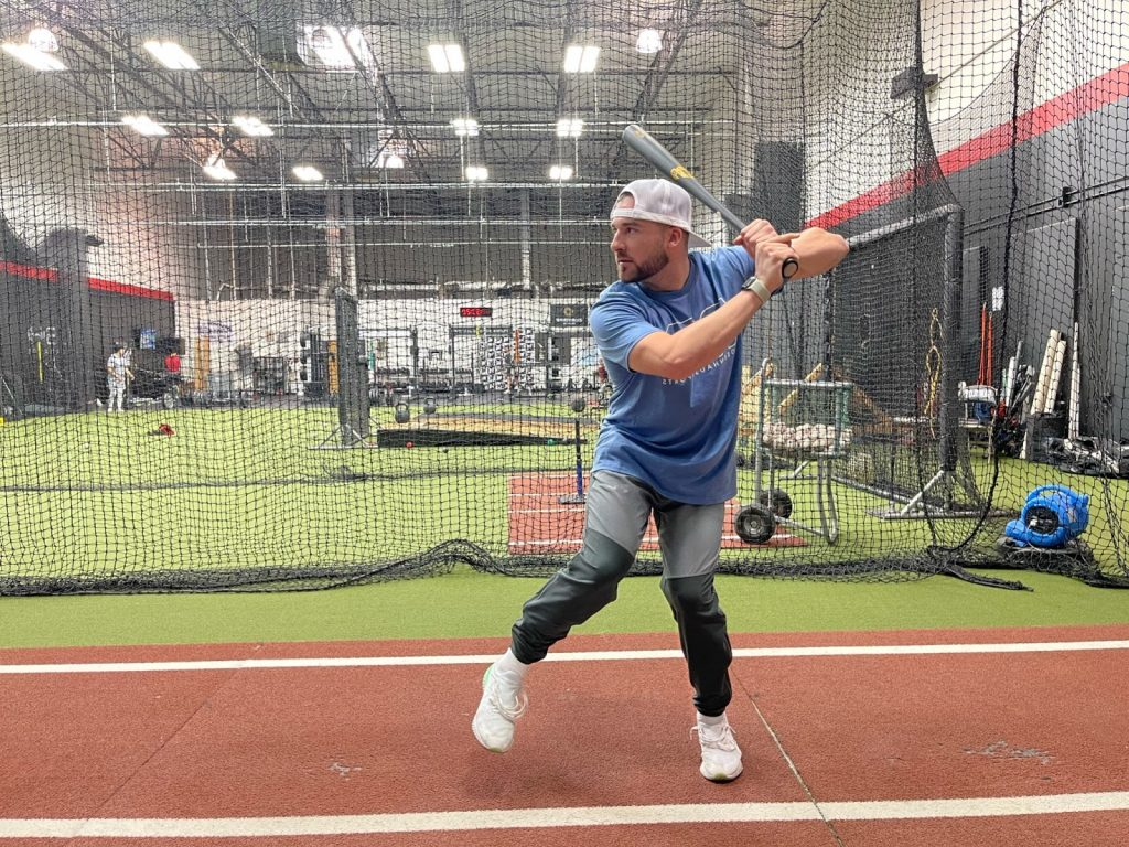 Working to gain power in your swing example.