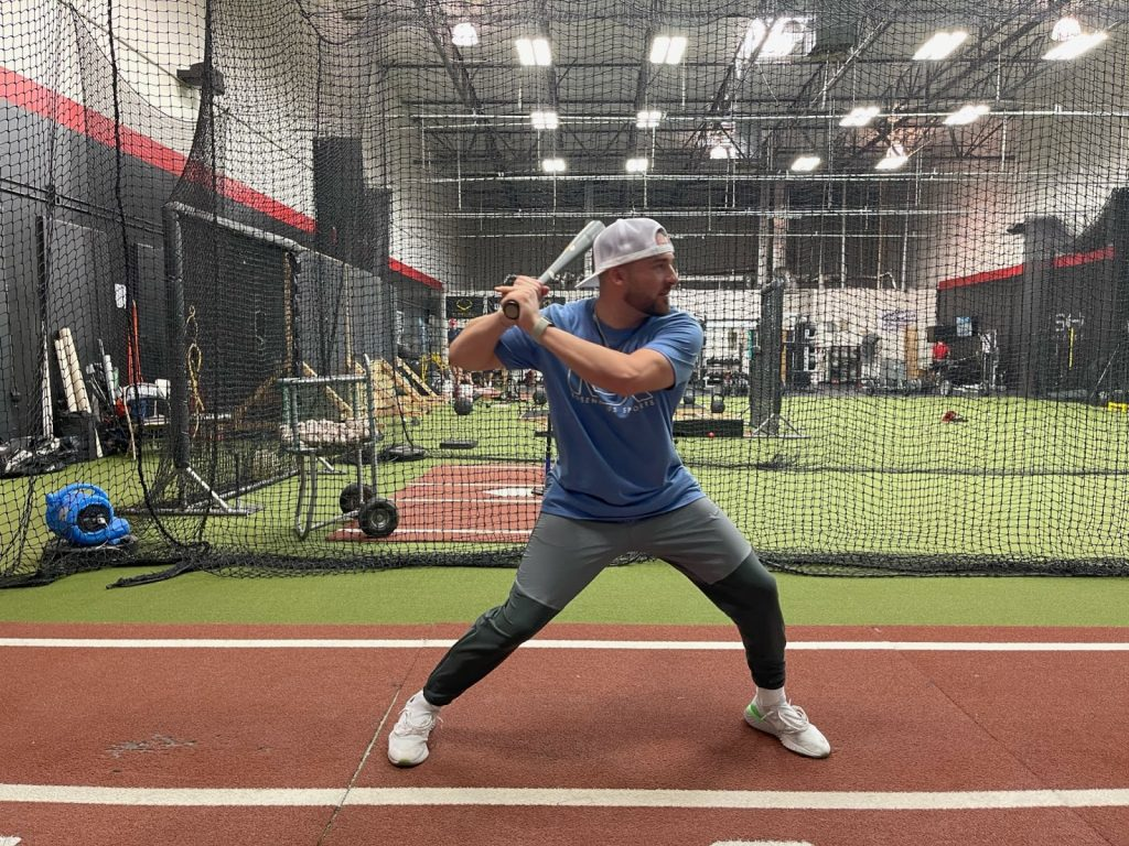 Example showing how to gain power in your swing.